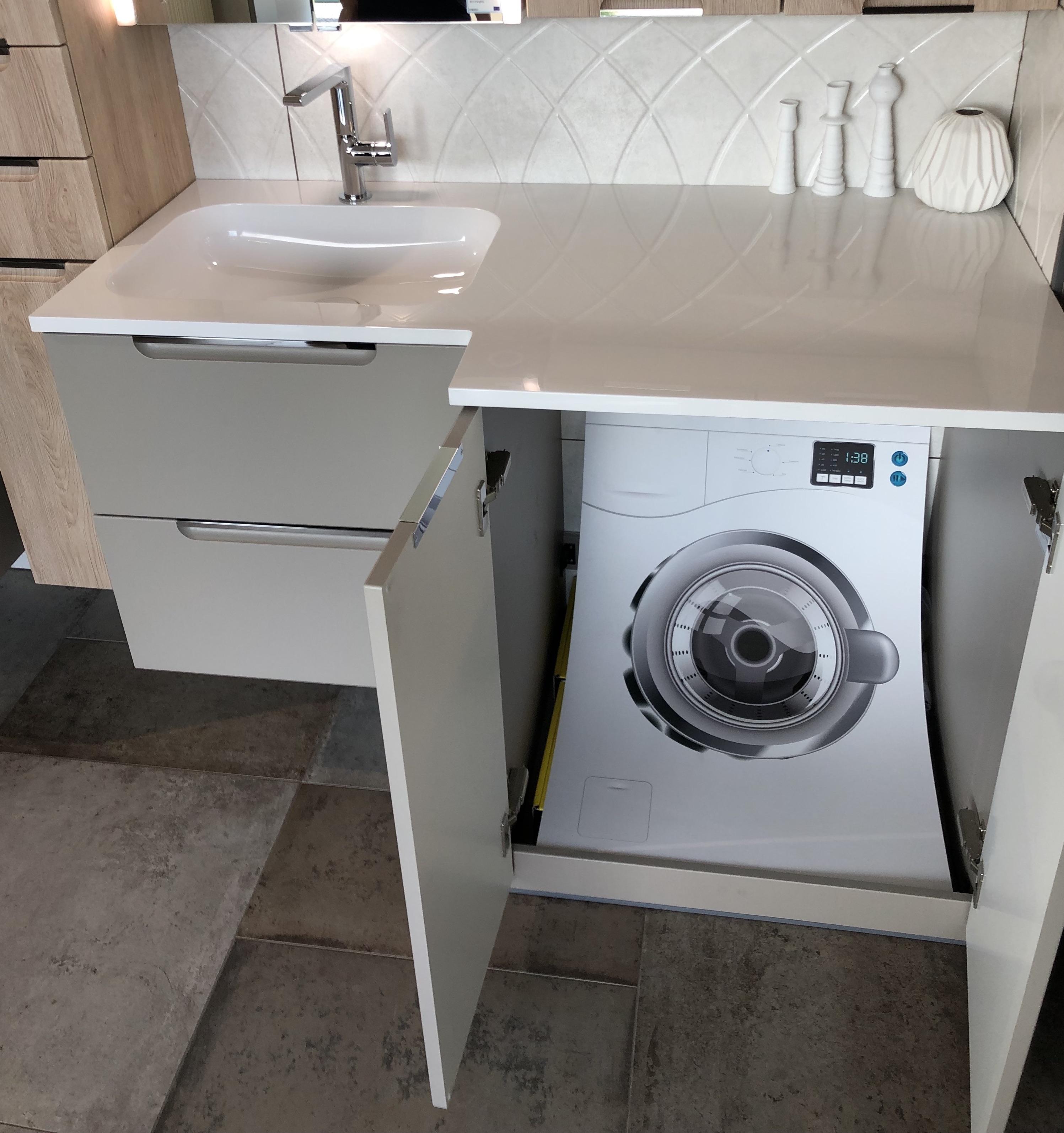 Rangement Machine À Laver aménager une petite salle de bain - thomservices